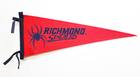 Mascot Richmond Spiders Wool Felt Pennants