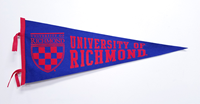 Crest University Of Richmond Wool Felt Pennant