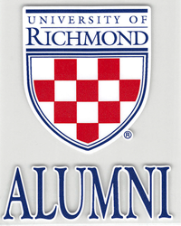 University of Richmond Crest Alumni
