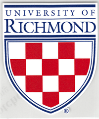 University of Richmond Crest Outside Decal