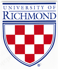 University of Richmond Crest 6 1/2 Inch Magnet