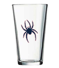 Pint Glass With Mascot