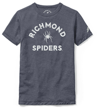 League Kids Soft Tee with Richmond Mascot Spiders