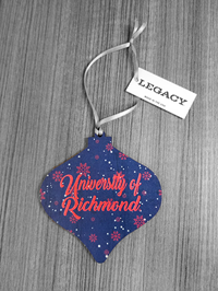 University of Richmond Wooden Ornament