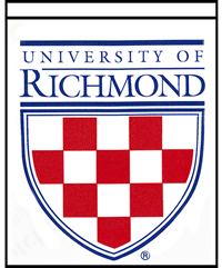 University Of Richmond Crest Home Banner Two Sided