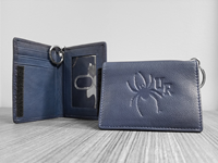 Carolina Sewn ID Holder Wallet with Velcro