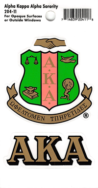 Greek Life Crest Decals