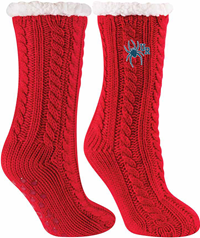 TCK Cabin Collection Sock with Sherpa