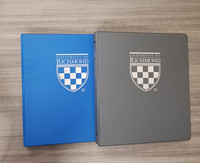 "University of Richmond Crest 1""-1 1/2"" Three Ring Binder"
