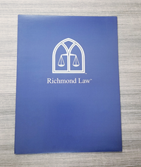Richmond Law Two Pocket Folder