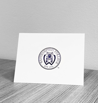 Set of 10 Blank Cards with Envelopes Westhampton College