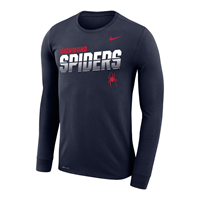Nike Long Sleeve Dri-Fit with Richmond Spiders Mascot