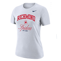 Nike Ladies Tee with Richmond Mascot Spiders EST 1840