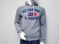 Blue 84 Hoodie With Richmond Est Mascot 40 Spiders