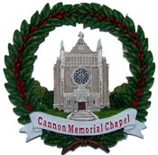 12I Ceramic Ornament Cannon Memorial Chapel